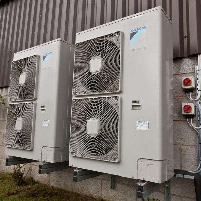 Мощная система тепловых насосов (35 кВт)