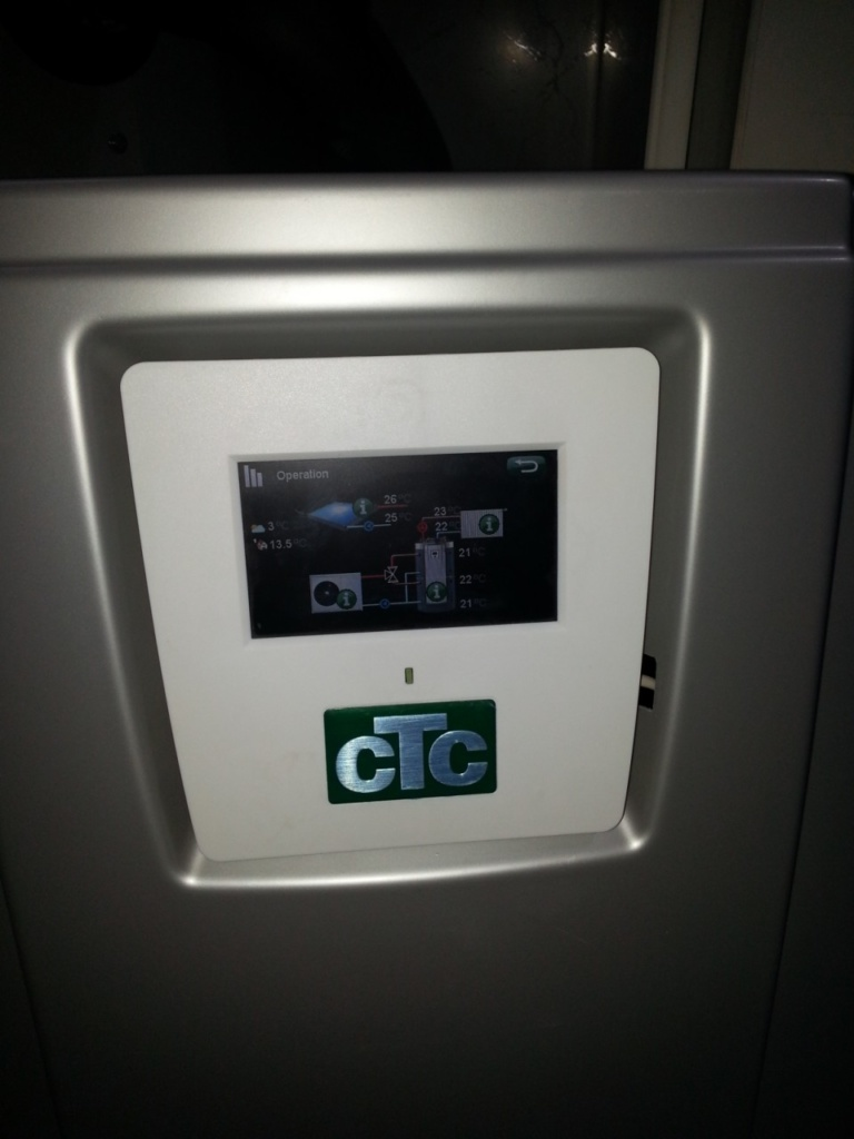 панель теплового насоса СТС - Саен