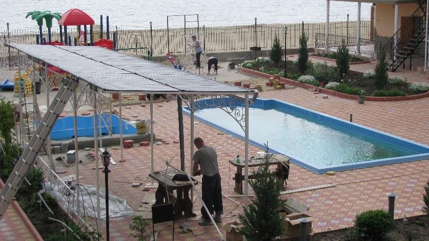 Источник нагрева воды в бассейне - Саен