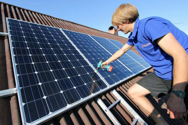 крышная система крепления солнечных панелей