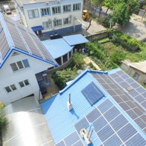 Монтаж солнечной электростанции 15 кВт в Одессе