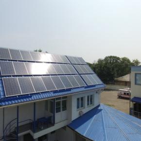 Монтаж солнечных электростанций 20 кВт