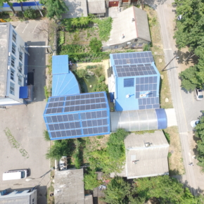 Крышная станция 20 кВт в Одессе