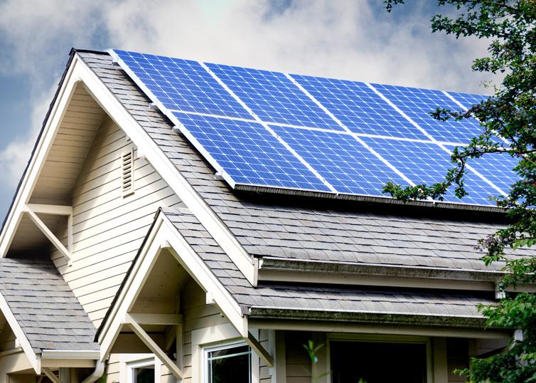 Солнечная электростанция 10 кВт на крыше