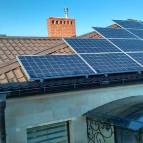 Установка солнечной электростанции на 10 кВт
