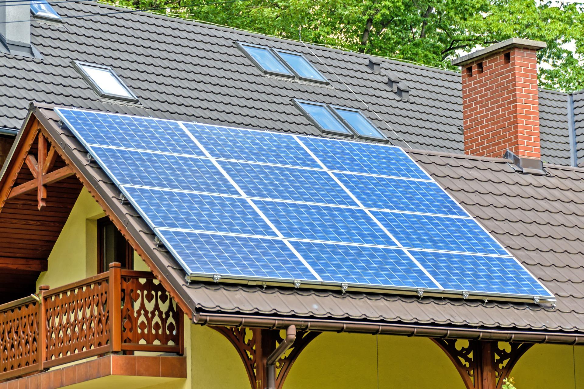 Крышная солнечная электростанция 5 кВт