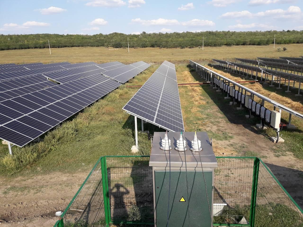 Солнечные панели в Одесской области